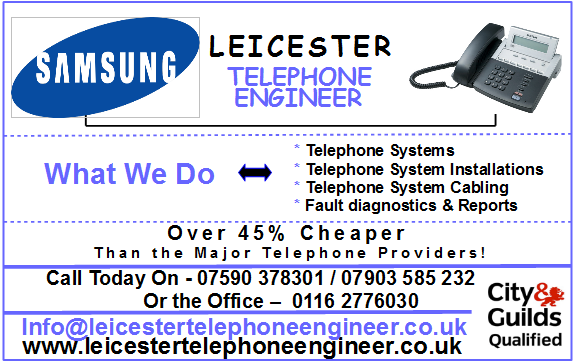 leicester telephone systems installations engineers