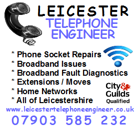 Leicester Telephone Engineer - Your Local Telecommunications company in Leicestershire